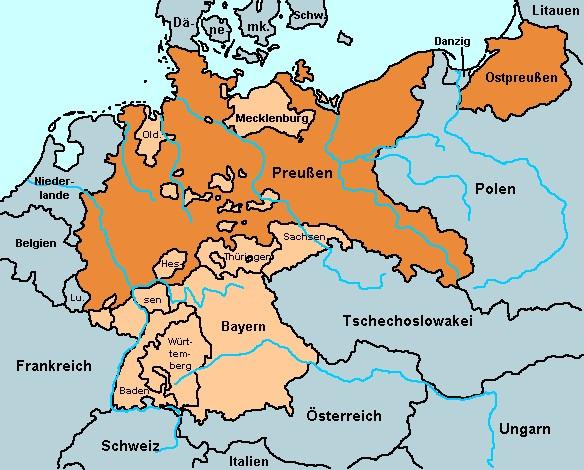 Deutsches Reich Karte.His Data Deutsches Reich Karte 1937