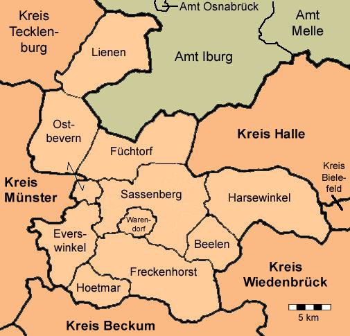 königreich hannover karte
