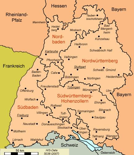 württemberg karte HIS Data Baden Württemberg Karte 1960 württemberg karte